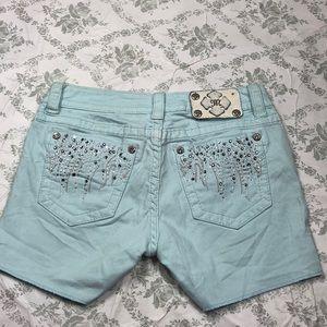 Miss me shorts sz 28 x 4 in